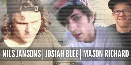 Nils Jansons, Josiah Blee, Mason Richard: Texas 2014