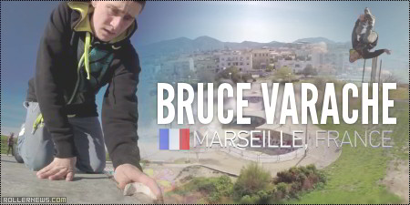 Bruce Varache: GoPro Session in Marseille (France)