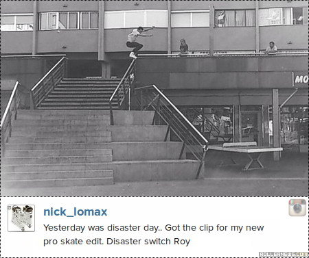Photo of the day: Nick Lomax - Disaster Switch Royal