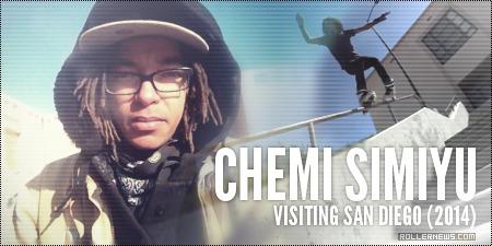 Chemi Simiyu: Visiting San Diego, 2014 Clips