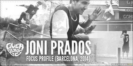 Joni Prados (Spain): Focus Profile (Barcelona, 2014)