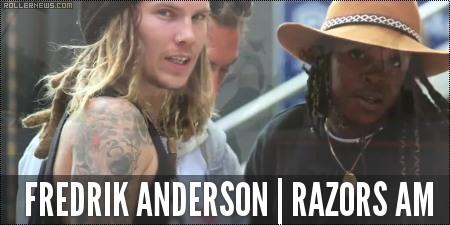 Fredrik Andersson (Razors AM) by Anthony Medina