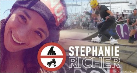Stephanie Richer @ IRCL 2014 (Switzerland)
