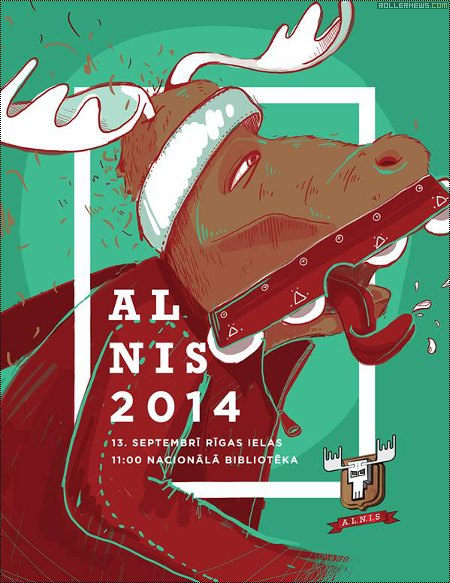 Alnis 2014 (Latvia): Flyer