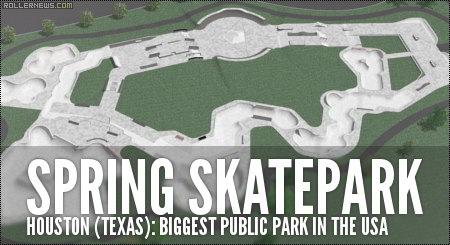 Spring Skatepark (Houston, Texas): Largest Public Skatepark in the USA