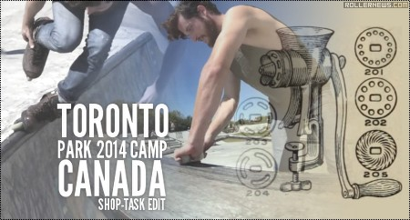 Toronto Park Camp 2014 (Canada): Shop Task Edit