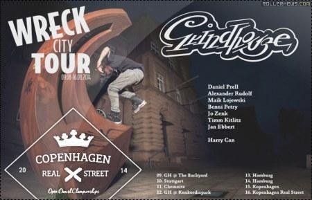 Grindhouse Wreck City Tour: Copenhagen Realstreet