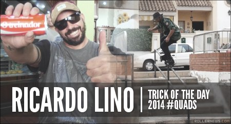 Trick of the day: Ricardo Lino (Quads)