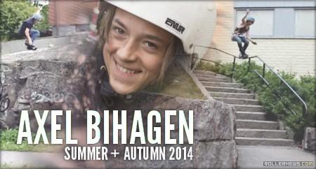 Axel Bihagen (Sweden, 14): Summer + Autumn 2014