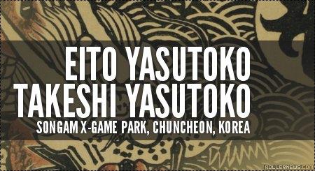 Yasutoko Brothers: Songam X-Game Park, Korea (2014)