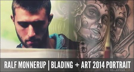 Ralf Monnerup (Denmark): Blading + Art, 2014 Portrait