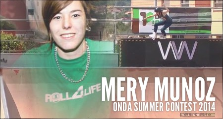 Mery Munoz @ Onda Summer Contest 2014 (Spain)