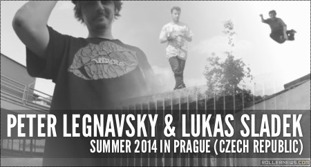 Peter Legnavsky & Lukas Sladek: Summer in Prague (2014, Czech Republic)