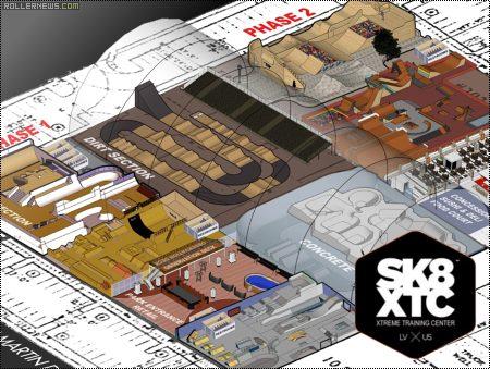 Sk8xtc (Las Vegas): the world's ultimate indoor park