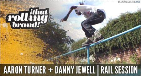 Aaron Turner & Danny Jewell: Rail Session (2014)