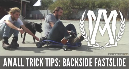 Amall Trick Tips: Backside Fastslide with Jon Vossoughi