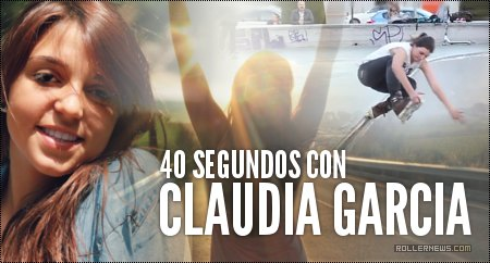 40 seconds with Claudia Garcia (Spain, 2014)