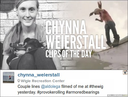 Clips of the day: Chynna Weierstall (2014)