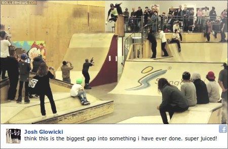Clip of the day: Josh Glowicki @ Blades of Glory 2014