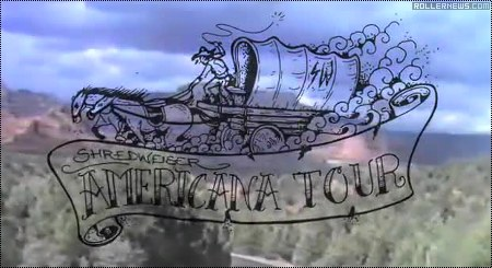 Shredweiser: The Americana Tour - The VHS Reel (2014)