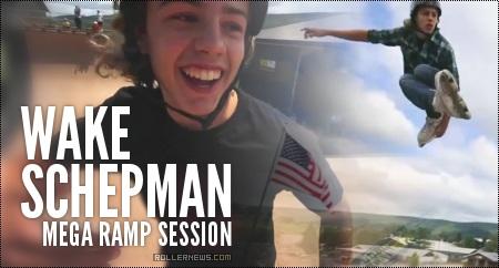 Wake Schepman: Woodward MegaRamp Session