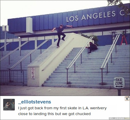 Photo of the day: Elliott Stevens (LA)
