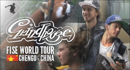 Grindhouse Team in Chengdu (China): FISE World 2014