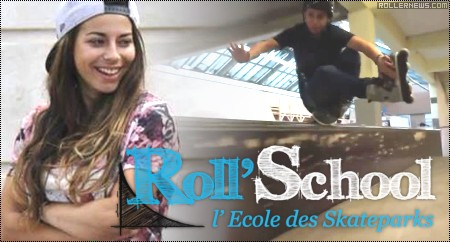 Lisa-Mary Authie (France): Roll' School (2014)