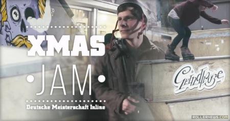 Dave Mutschall @ X-Mas Jam 2014 (Hamburg, Germany)