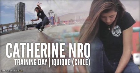 Catherine Nro: Training Day, Iquique (Chile) 2014