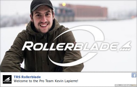 Kevin Lapierre: Welcome to the Rollerblade Pro Team