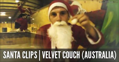 Santa is on fire: Velvet Couch Clips (Australia, 2014)