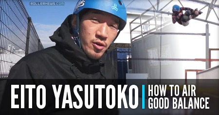 Eito Yasutoko: How to Hight Air (Good Balance)