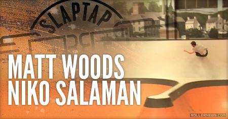 Matt Woods & Niko Salaman (2014) by Mark Worner
