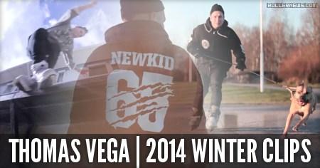 Thomas Vega: Winter Clips (2014) by Zebastian Cassel