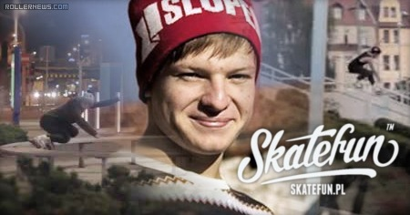 Pawel Zalejski (Poland): 2014 Skatefun Street Edit