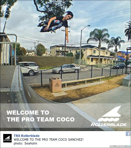 Coco Sanchez: Welcome to the Rollerblade Team (2015)