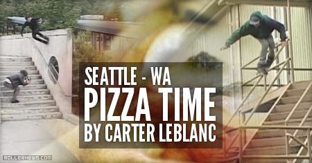 Pizza Time (Seattle, 2014) by Carter Leblanc