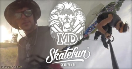 Marek Doniec (Poland): Summer 2014, Skatefun Edit
