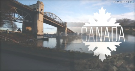 Canada x Seba Skates by Anthony Finocchiaro (2014)