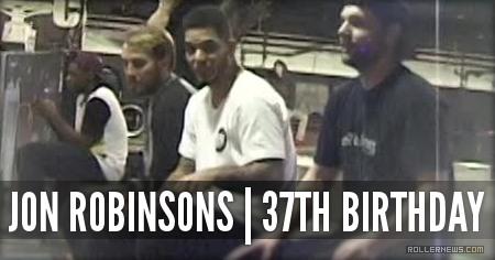 Taped Raw: Jon Robinsons 37th birthday (2015)