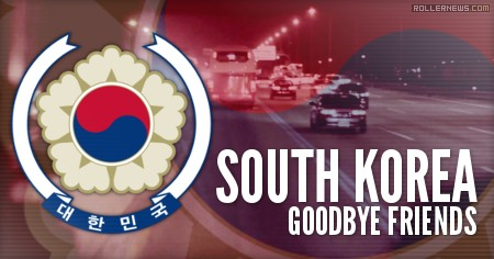 South Korea: Goodbye Friends (2014) by Tyriek Gibson