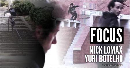 Focus (Barcelona, 2014): Nick lomax + Yuri Botelho