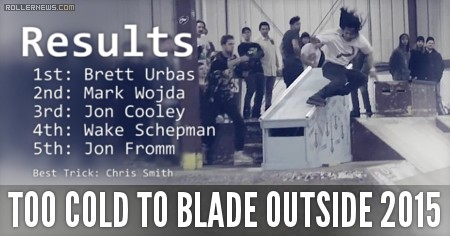 Too Cold To Blade Outside 2015: Southern Scum Edit