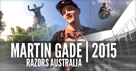 Martin Gade | Razors Australia (2015)