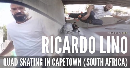 Ricardo Lino: Quad Skating in Capetown (South Africa)