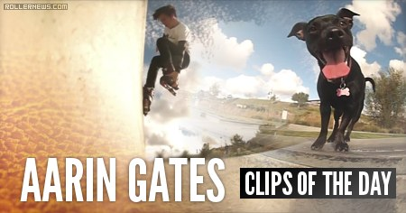 Rogue and Aarin Gates go to the skatepark.
