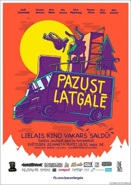 Pazust Latgale (2015) featuring Nils Janson: Trailer