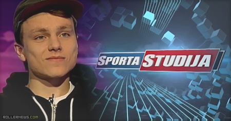 Nils Jansons featured on Latvian Television (2015)