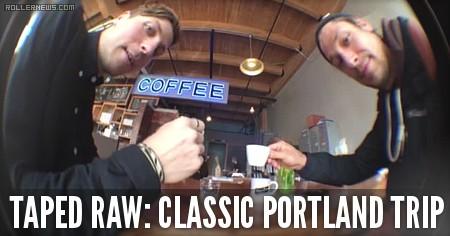 Taped Raw: Jeph Howard, Alex Broskow & Amir Amadi - Classic Portland Trip (2015)